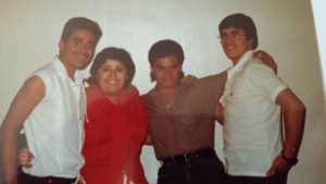 Image of the young Maldonado siblings, Ray, Edna, Frank, Albert